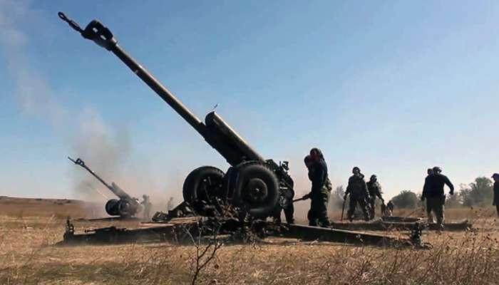 артилерія бойовиків ато