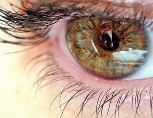око людини