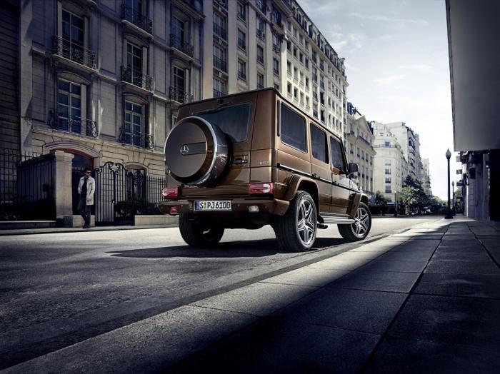 Mercedes-Benz Gelandevagen G-Class