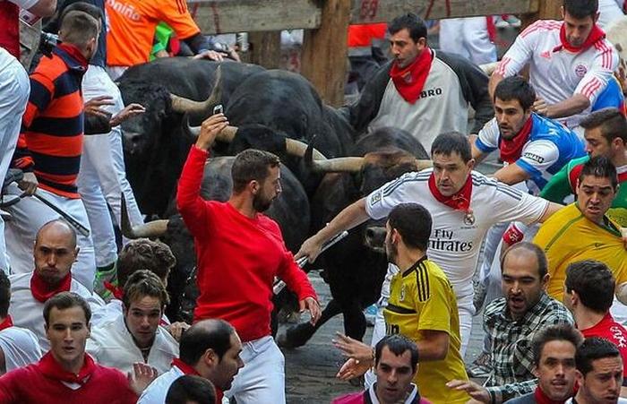 розлючені бики іспанія