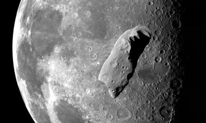 астероїд місяць