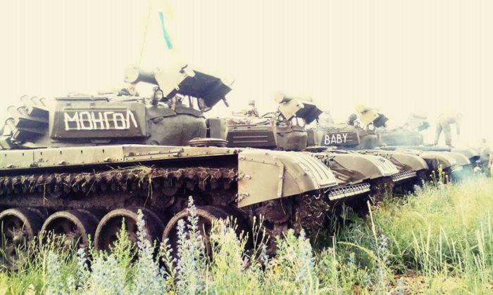 танки батальйону донбас