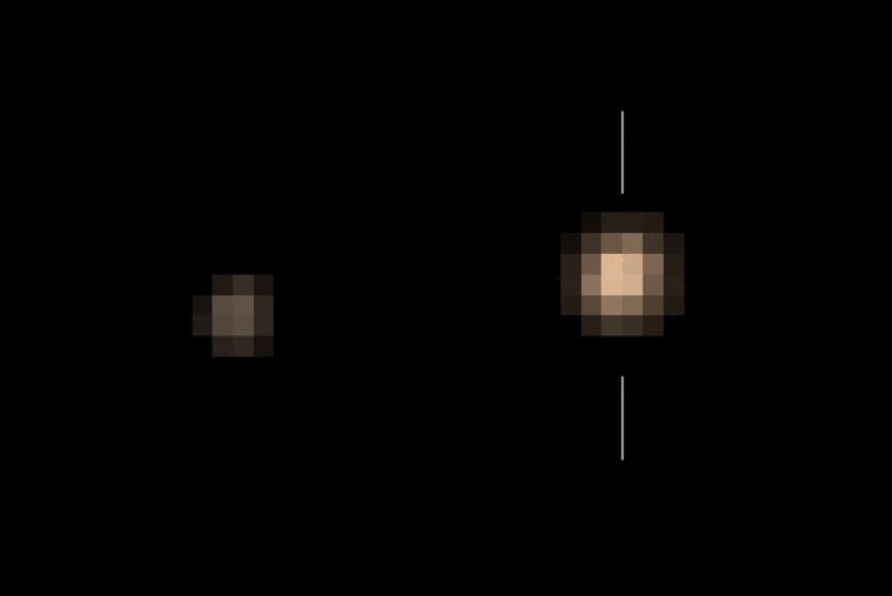 рух  Харона навколо Плутона