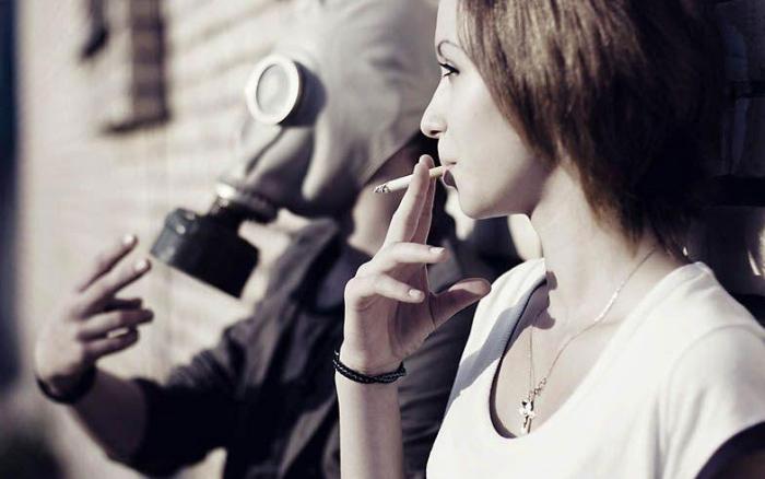 куріння в приміщені