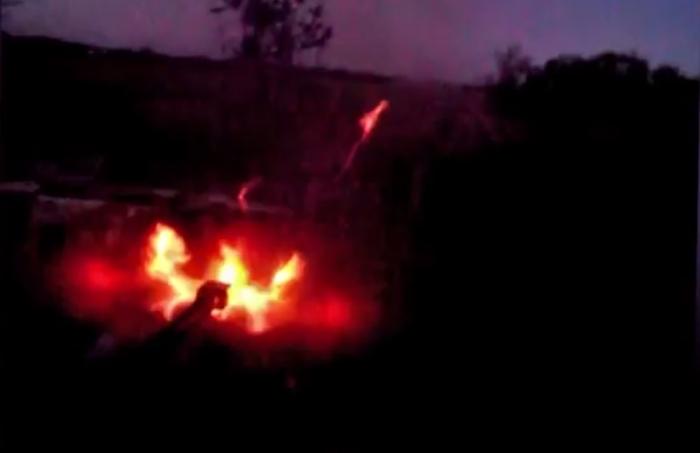 вогонь з бмп ато