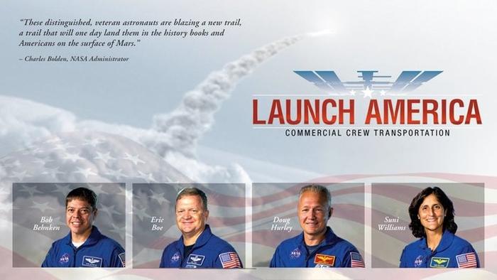 астронавти для комерційних польотів