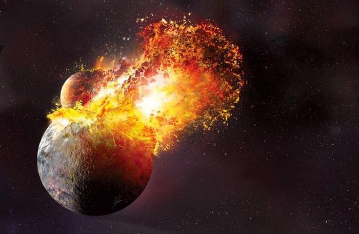 зіткнення планет