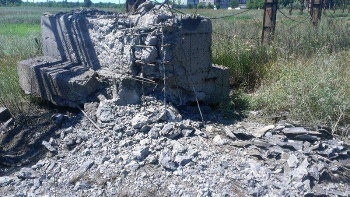 Авдіївський коксохімічний завод обстріл