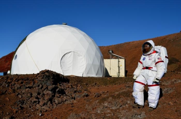 імітація польоту на марс