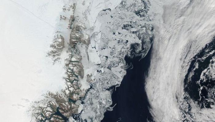 танення льодовиків у гренландії
