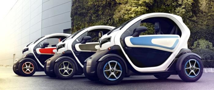 Renault електрокар