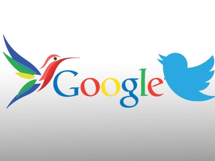 Google і Twitter
