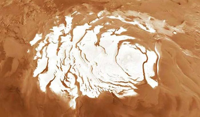марс сніг