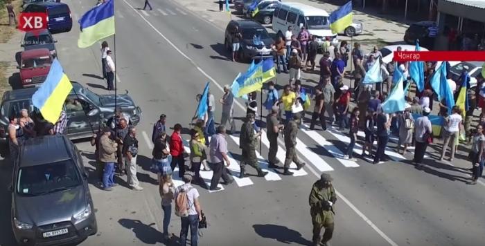 блокада криму чонгар