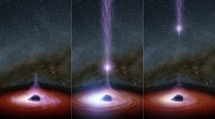викид рентгенівського випромінювання чорної діри Mrk 335
