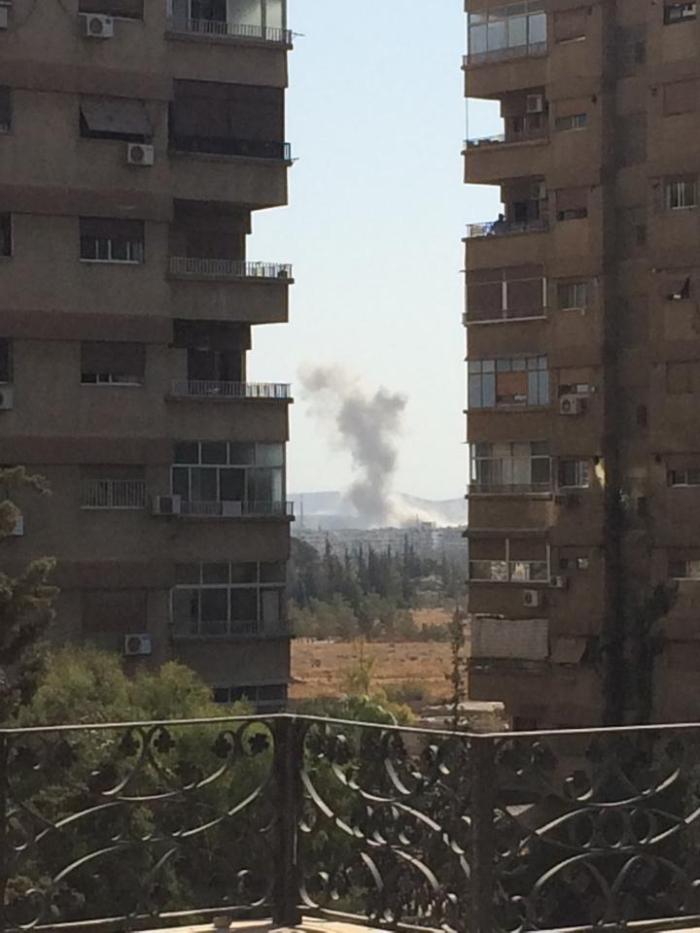 обстріл міста Дарая