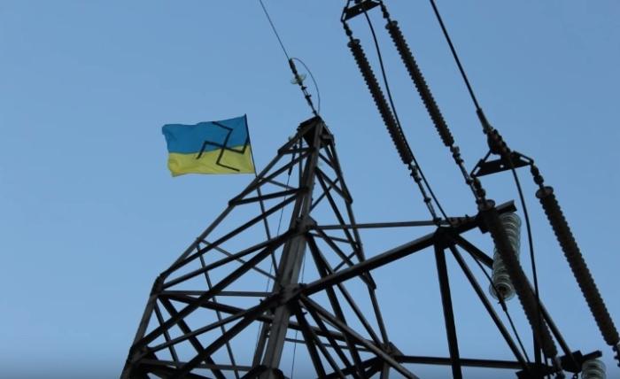 державний прапор зі свастикою