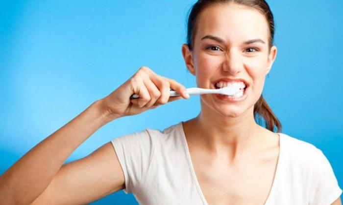 чищення зубів