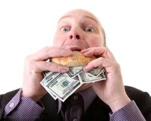 багатство жадібність