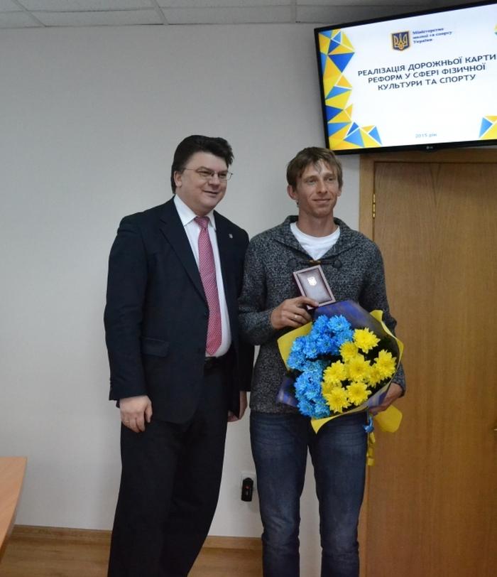 Андрій Проценко нагороджений орденим данила галицького