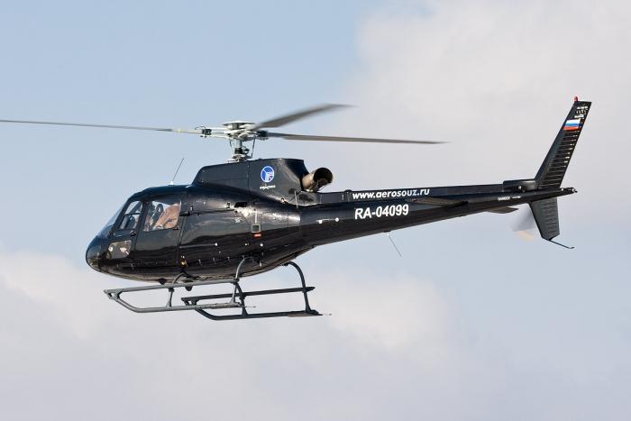 вертоліт AS-350