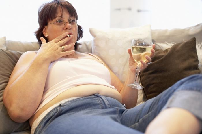 куріння ожиріння