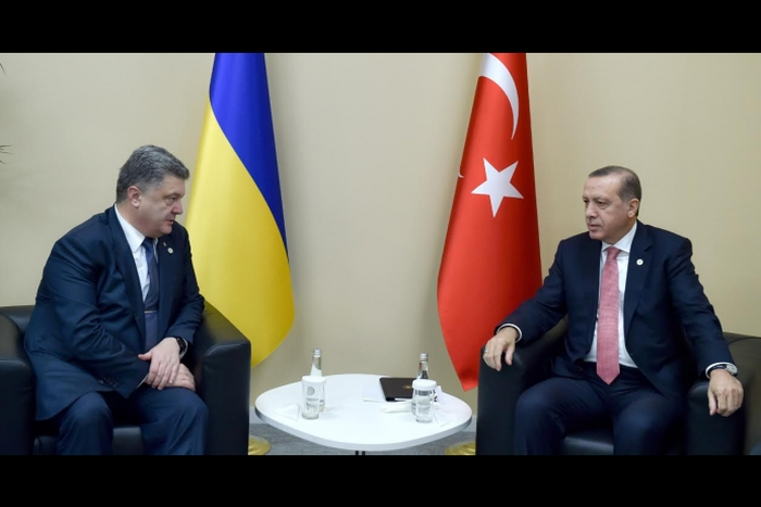 петро порошенко з Реджепом Таїпом Ердоганом