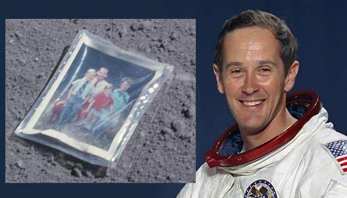Чарльз Дюк послання на місяці