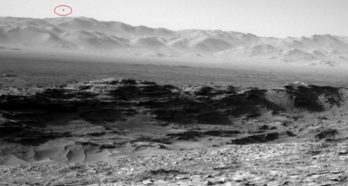 нло над поверхнею марсу