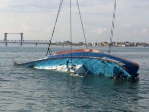 затонулий пароплав іволга