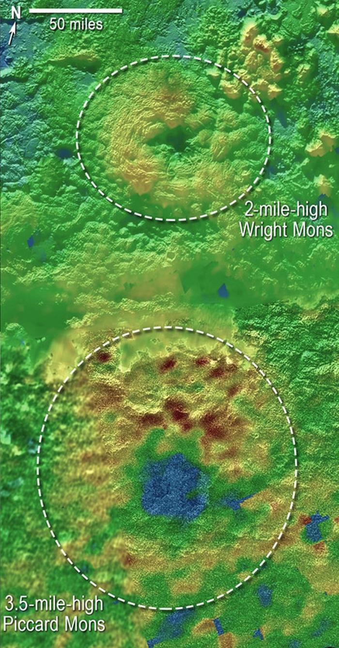 плутон крижані вулкани