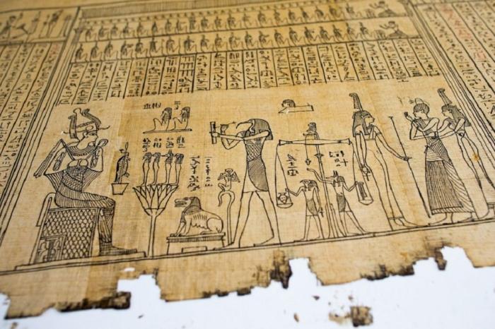 древній єгипетський папірус
