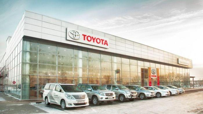 Toyota автосалон