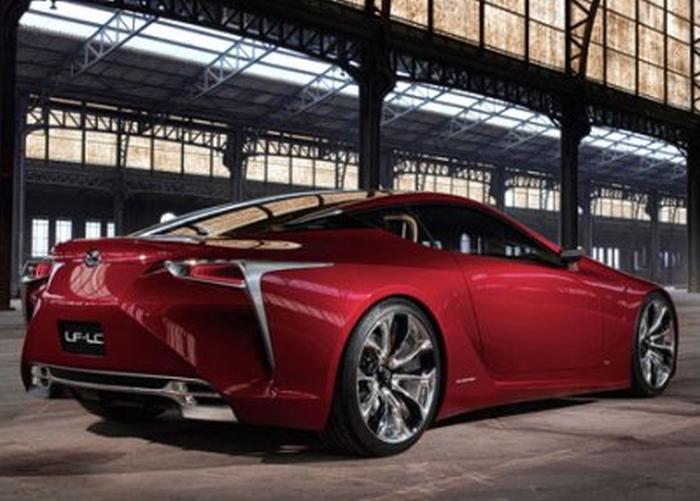 Концепт Lexus LF-LC