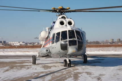вертоліт мі-8 камчатка