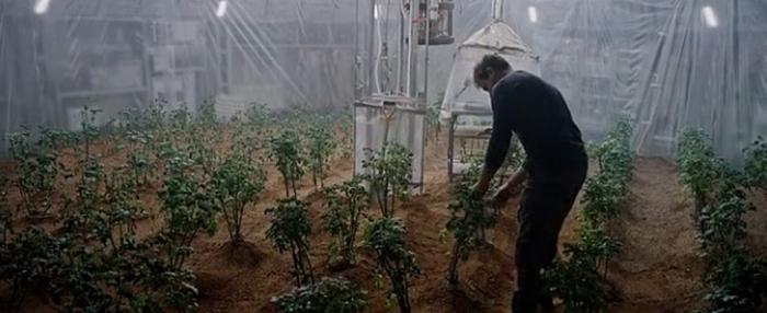 вирощування картоплі на марсі