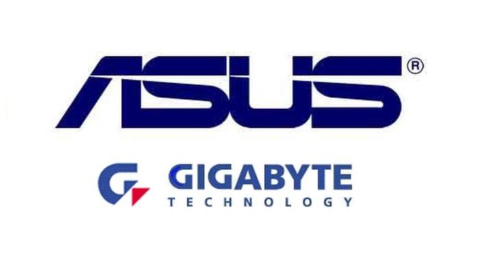 ASUS і Gigabyte
