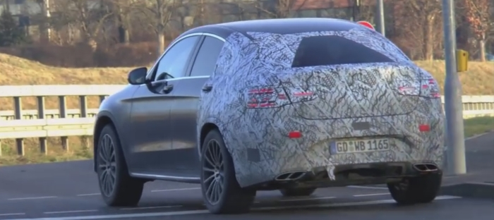 Mercedes-Benz GLC 450 AMG Coupe на тестах