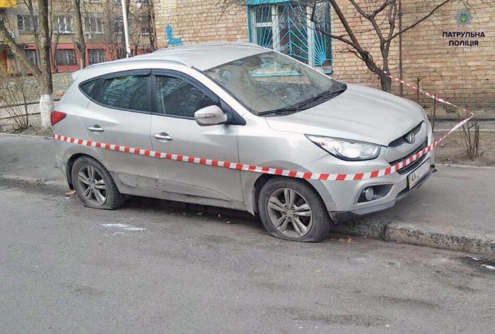 патрульна поліція києва затримала автомобіль