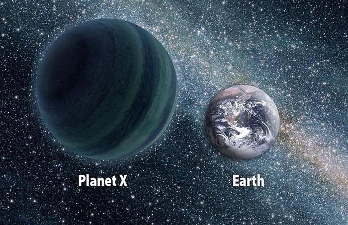 планета нібіру та земля