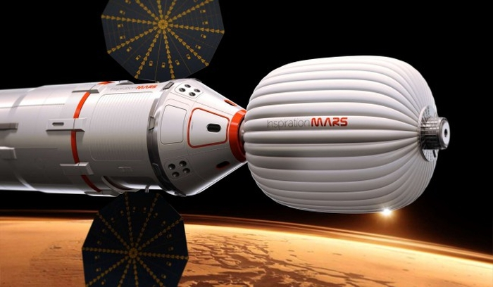 житловий модуль для польоту на марс