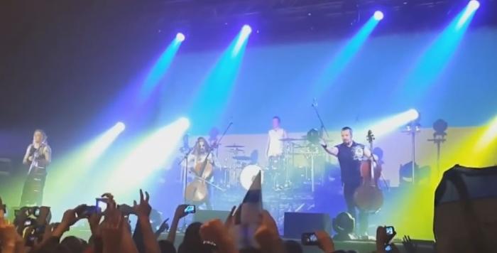 Apocalyptica концерт в києві