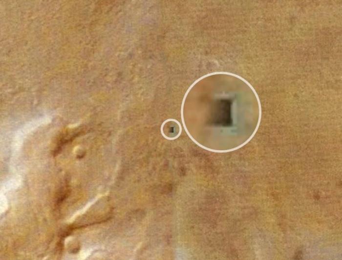 бункери інопланетян марс