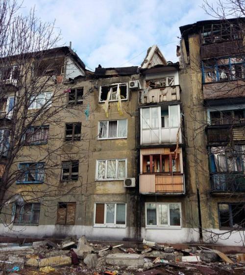 вибух в будинку в украънську