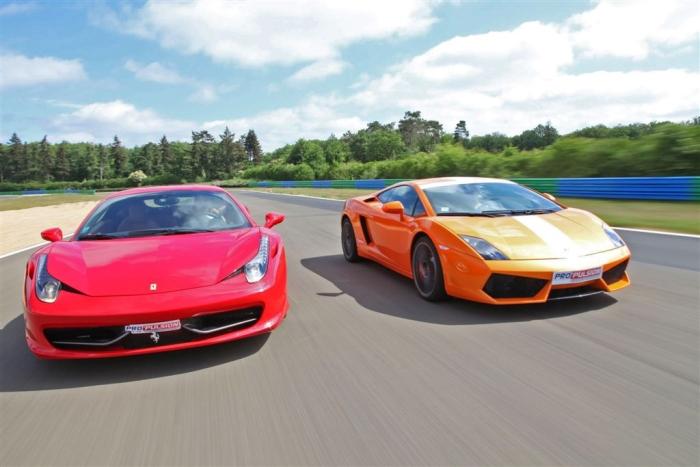 Ferrari і Lamborghini