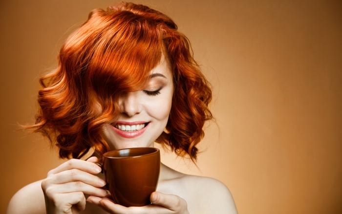 кава жінка
