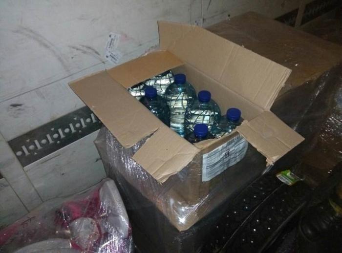 контрабанда спирту в район ато