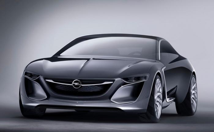 Opel GT Concept тизер