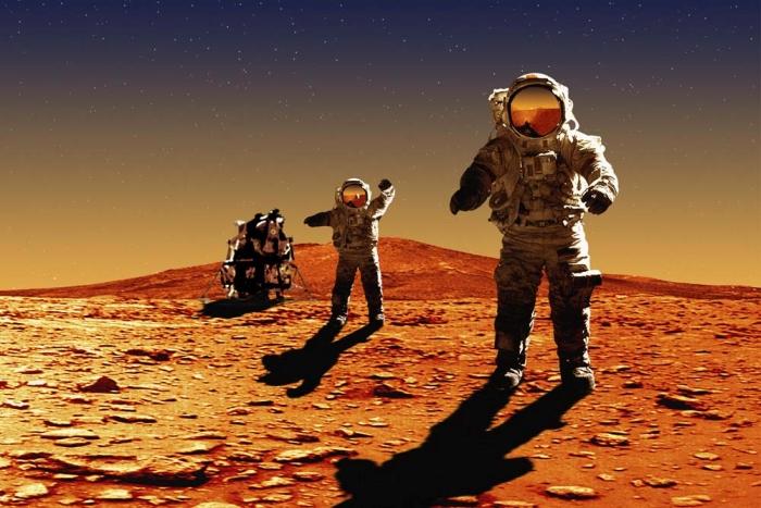 подорож на марс