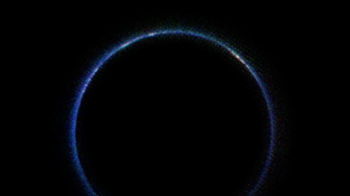 атмосфера Плутона в інфрачервоному спектрі